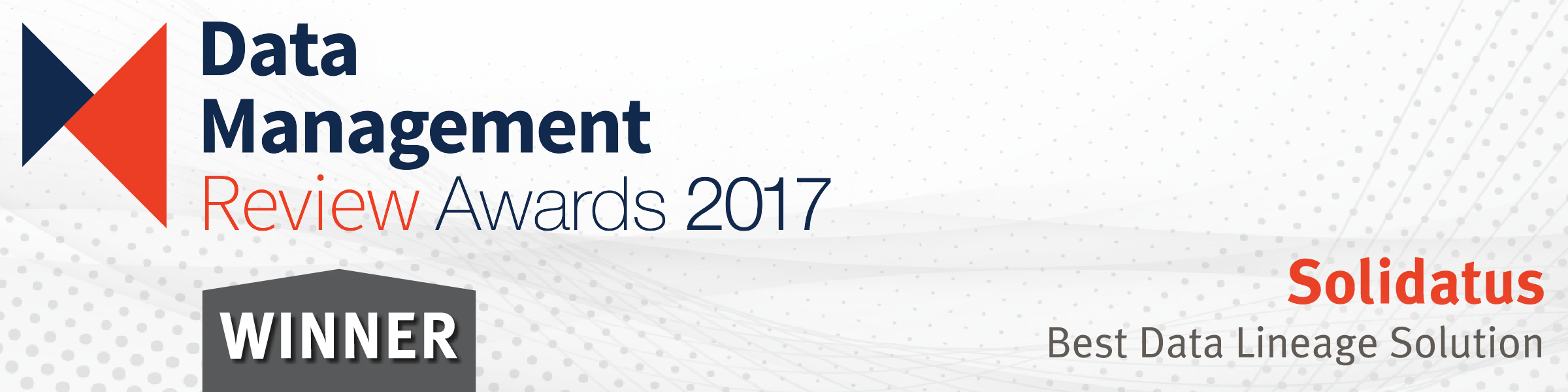 Solidatus named best data lineage solution at DMR Awards 2017